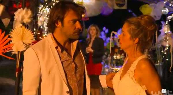 Helene et Nicolas le retour après la découverte de la vidéo de Peter