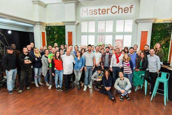 Les équipes de Masterchef saison 5 de 2015 sur TF1 / Photo @QuiniouMarie