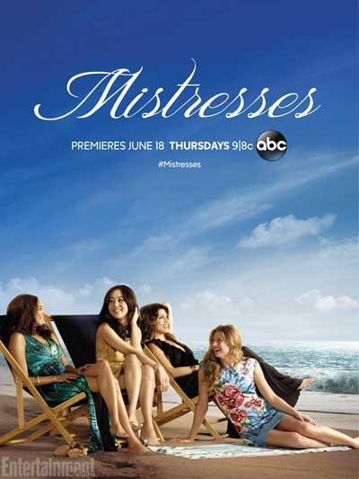 Le poster promotionnel de Mistresses saison 3 sans Alyssa Milano