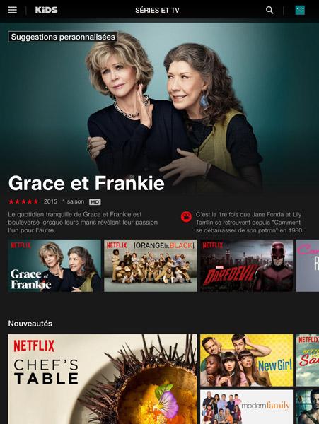 Les nouveautés cinéma de Netflix France 2015-2016 et nouvelles séries TV