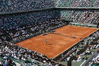 Les nouveautés Roland Garros 2015 sur France Tv Sport // Crédit photo : Gilles Gustine-FTV