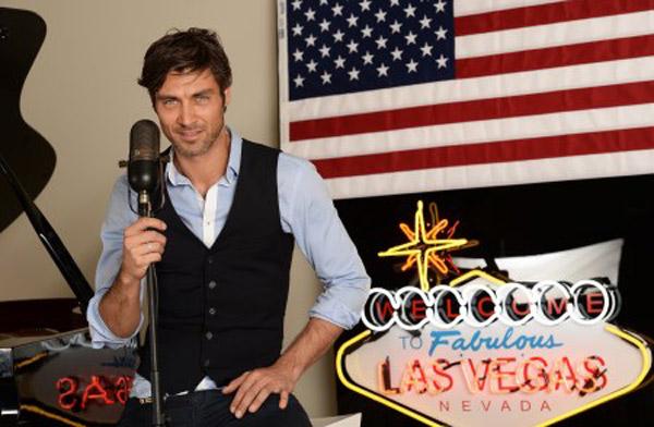 Romain le beau gosse de Las Vegas Academy W9 : va--til se mettre en couple avec Eva? Cécilia? Audrey? / Crédit : Lionel HAHN/ABACAPRESS/W9