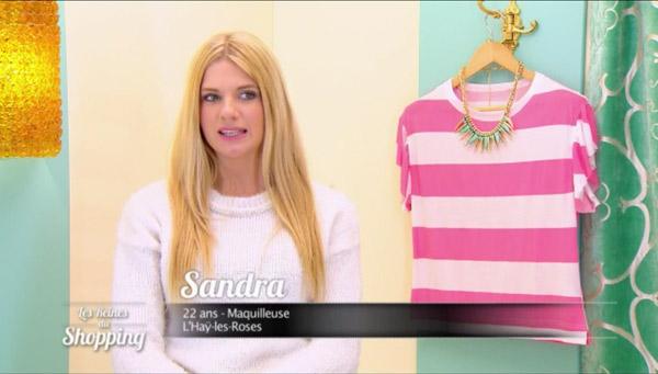 Vos avis sur Sandra candidate les reines du shopping le 5 mai 2015 #LRDS