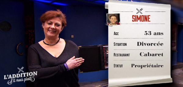 Avis sur le restaurant cabaret de Simone dans l'addition s'il vous plait à Paris le 11/05/2015