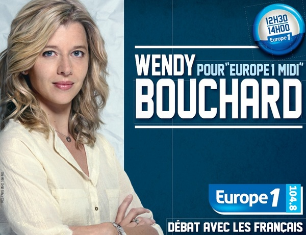 Wendy Bouchard et Jean Michel Apathie font Europe 1 midi Ensemble : que pensez-vous du duo de la rentrée ?
