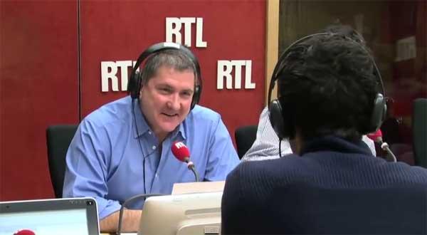 Qui remplace Apathie pour l'interview Politique de RTL ?