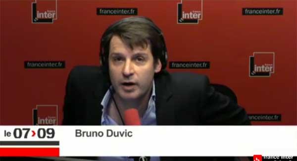 Reportages en régions de Bruno Duvic sur France Inter