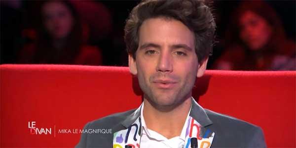 Avis et commentaire sur le divan de Mika sur France 3