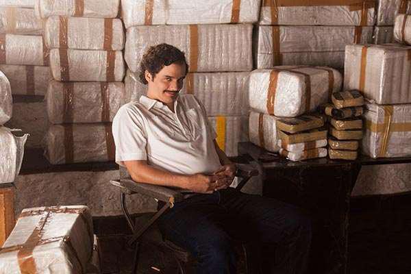 Narcos la série TV de Netflix en août 2015