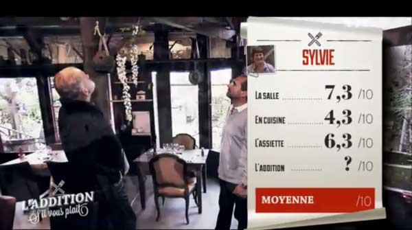 Les notes de Sylvie de l'addition SVP : peut-elle être la gagnante ?