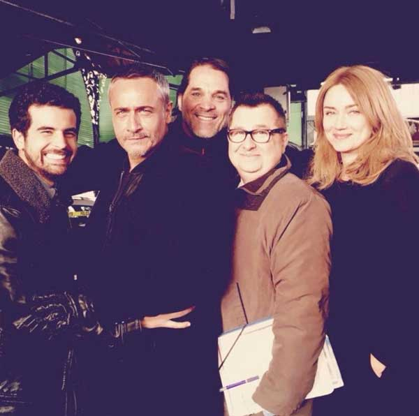 Photo du tournage Alice Nevers saison 14  / Photo twitter