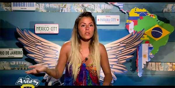 Anaïs dans Les vacances des anges de NRJ12 à la rentrée 2015 : les anges 8 all stars !