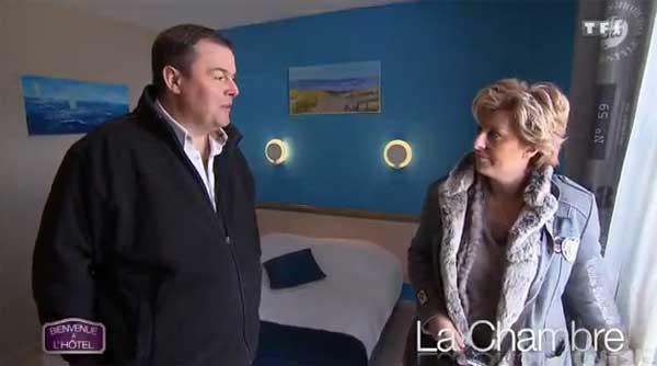 Adresse et avis sur l'hôtel de Valérie et Christophe de Bienvenue à l'hôtel sur TF1