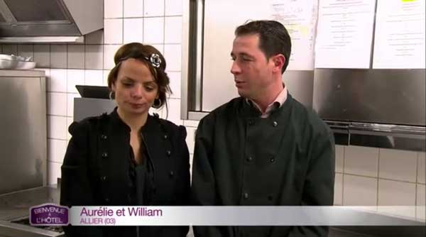 Aurélie et William peuvent-ils être les gagnants de Bienvenue à l'hôtel de TF1 ?