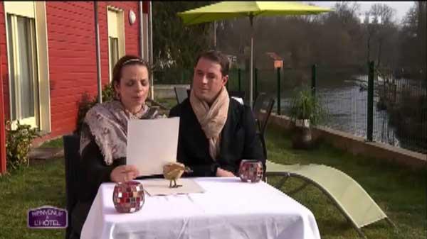 Aurélie et William ont décidé de pousser un coup de gueule dans Bienvenue à l'hôtel de TF1
