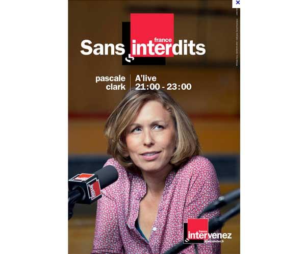 Pascale Clark sur France Inter à la rentrée 2015 mais quelle émission ?
