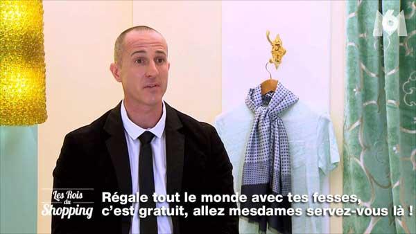 C'est parti pour Franck dans les rois du shopping de M6