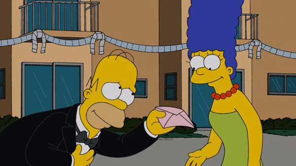 Homer et Marge : le divorce  dans les simpsons ?