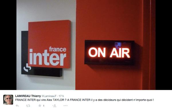 Départ d'Alex Taylor de France Inter : exit la revue de presse européenne, ça va manquer !