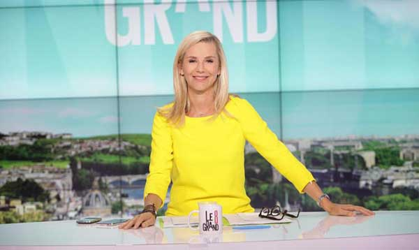 Laurence Ferrari dans Le Grand journal : animation et politique en septembre 2015 / Photo D8