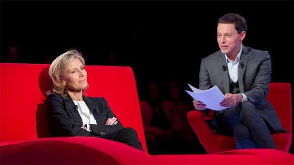Avis et commentaires Le divan de Claire Chazal sur France 3 / Photo France 3- le divan MOF