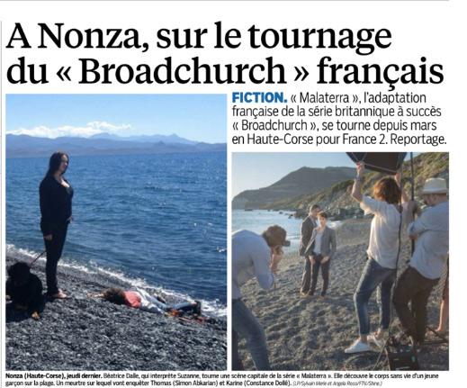 Avis et commentaires sur Malaterra de France 2 le broadchurch français