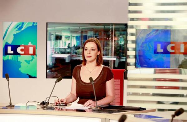 Caroline Dieudonné ex joker LCI ... devient joker BFMTV  / Photo LCI