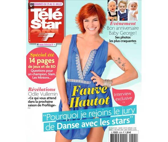 Confidences de Fauve Hautot jurée Danse avec les stars 2015 (saison 6)