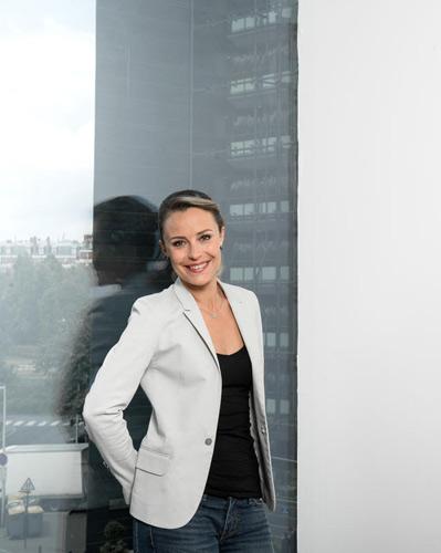 Isabelle Moreau reste à la pré-matinale de iTélé le 5h-7h / Photo : Augustin Detienne