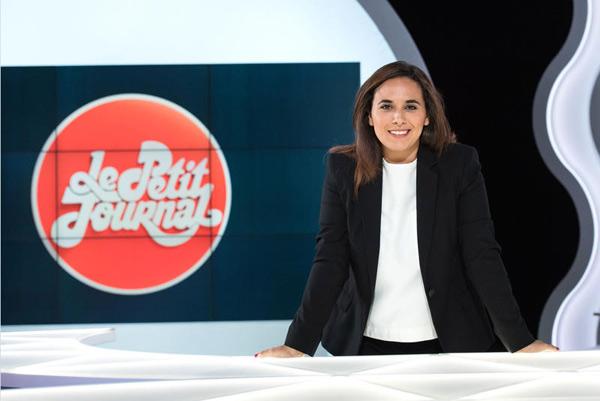 Salhia Brakhlia journaliste politique bFMTV avec Thierry Arnaud ou Apolline de Maherbe / Photo Augustin Detienne -C+