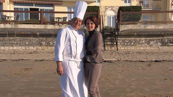 Avis et commentaires sur l'hôtel de Christophe et Alexandra dans Bienvenue à l'hôtel  / Photo TF1
