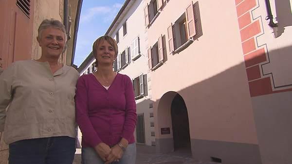 Avis et adresse de la maison d'hôtes d'Anne et Pierette (Suisse) dans Bienvenue chez nous. / Crédit photo TF1