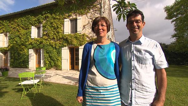 Commentaires et adresse de la maison d'hôtes de Béatrice et Cyril de Bienvenue chez nous / Crédit photo TF1