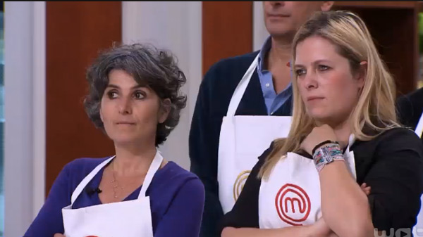 Betty et Karine de Masterchef 2015 en difficultés