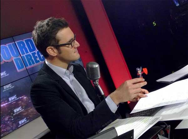 Les avis sur Adrien Borne qui arrive sur ITélé  / Crédit photo @MA2TBE2L