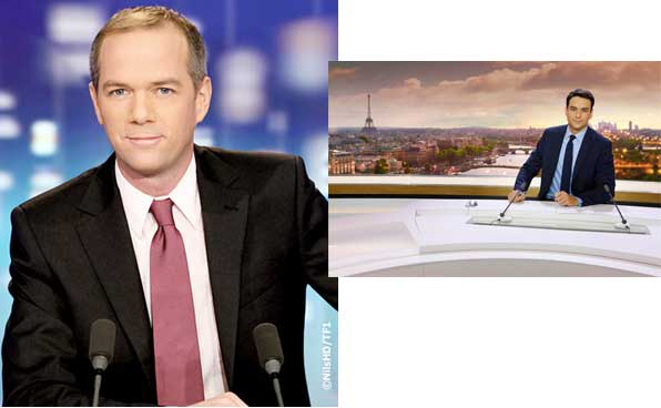 Qui est votre préféré Julien Arnaud ou Julian Bugier joker de l'info TF1 et France 2 ?