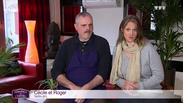 Cécile et Roger pas gagnants de Bienvenue à l'hôtel à cause des notes très basses de Lucie et Julien ?