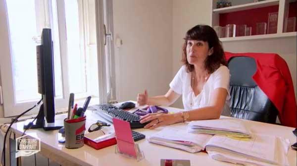 Caroline Vasseur de Chasseur d'appart M6 sur Marseille