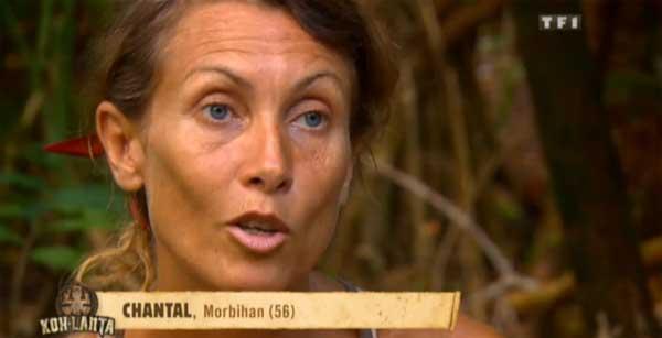 Chantal protégée dans la dernière ligne de Koh Lanta 2015 ?