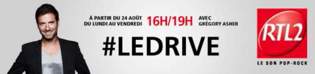 Avis et commentaire sur le Drive RTL2 de Grégory Ascher : l'after work en radio