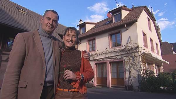 Avis et adresse de la maison d'hôtes de Françoise et Jean Claude (Haut Rhin) dans Bienvenue chez nous. / Crédit photo TF1