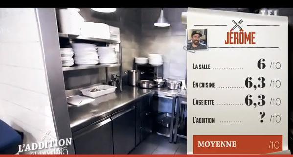 Les notes de Jérôme de l'addition SVP sur Marseille