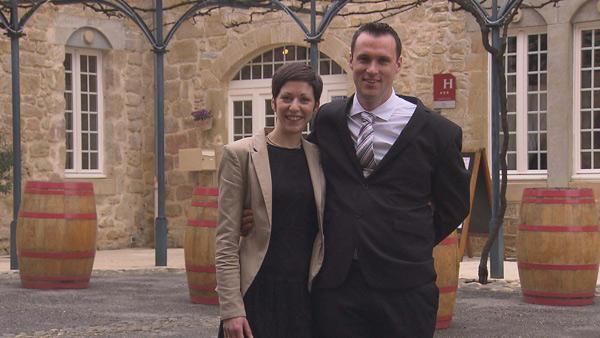 Avis et commentaires sur l'hôtel de Lucie et Julien de bienvenue à l'hôtel / Photo TF1