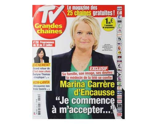 Marina Carrère d'Encausse a perdu 20 kilos : comment? régime? opération ?