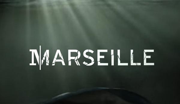 Le logo de la série Netflix : Marseille saison 1