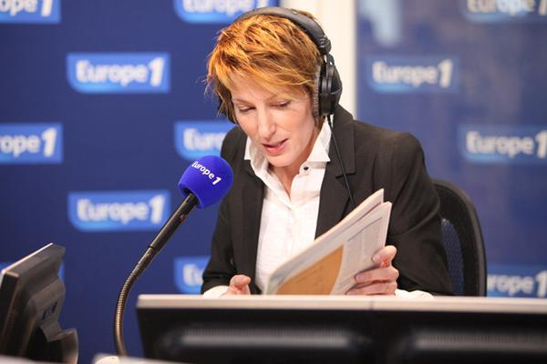 Natacha Polony au Mediapolis d'Europe 1 / Capture E1
