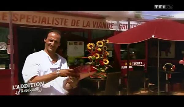 Avis et adresse sur le restaurant de Philippe autour de Nice de l'addition S'il vous plait TF1