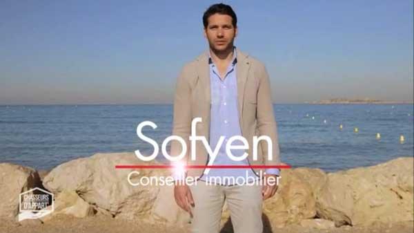 Sofyen conseiller immobilier sur M6 pour Chasseurs d'appart