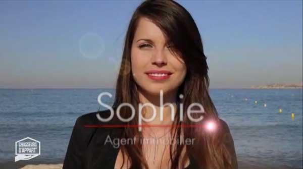 Sophie dans chasseurs d'appart sur M6