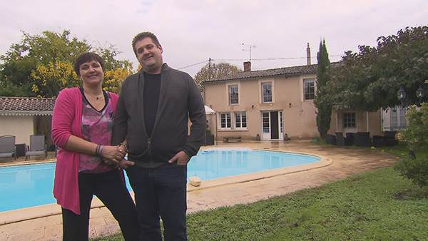 Avis et adresse de la maison d'hôtes de Véronique et Olivier en Gironde dans bienvenue chez nous / Crédit photo TF1